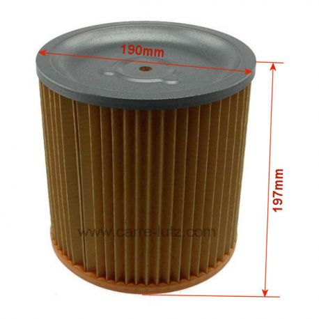 cartouche filtre d 39 aspirateur bidon hoover s4434 s4436 ref 802159. Black Bedroom Furniture Sets. Home Design Ideas