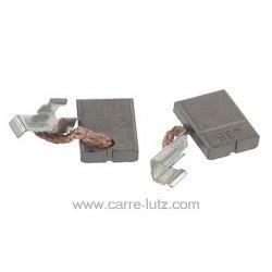 Jeu de charbon moteur 6x9x12,5 mm Perceuse Makita Ref. CB-436, CB-440  BDA340RFE, BDA350RFE, BDF440RFE, BDF440SFE, BDF441RFE...