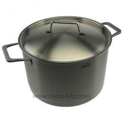 45126 - Marmite avec couvercle inox 26 cm Foodie Lacor