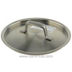 Couvercle inox 16 cm Foodie Lacor 45916 Poignées et manches ergonomiques en acier inoxydable fondu Garantie maximale en terme...