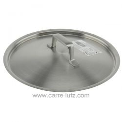 Couvercle inox 20 cm Foodie Lacor 45920 Poignées et manches ergonomiques en acier inoxydable fondu Garantie maximale en terme...