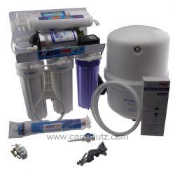 Osmoseur type AP 5000 - 5 niveaux de filtration avec membrane 50 GPD , reference 852121