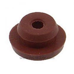 Passe fils de poele à pellets Caoutchouc porte-sonde fumées Pour capsules de 3 mm Hauteur caoutchouc: 5,3 mm Diamètre intérie...