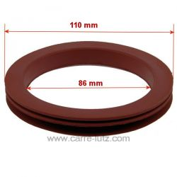 Joint vidange fumées pour inserts à granulés Diamètre intérieur: 85 mm Diamètre extérieur: 110 mm Température maximale: 260°C...