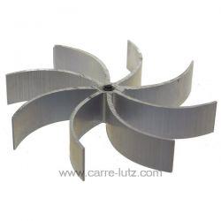 Turbine de ventilation diamètre 150 mm épaisseur 25 mm pour extracteur de fumée , reference 231134