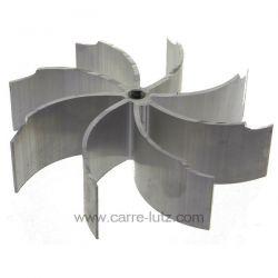 Turbine de ventilation diamètre 150 mm épaisseur 40 mm pour extracteur de fumée , reference 231135