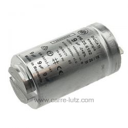 Condensateur permanent 9MF 475VAeg Electrolux Arthur Martin Faure Zanussi ref. 1250020227 1125431005  ADC5105 ADC5105/1 ADC...