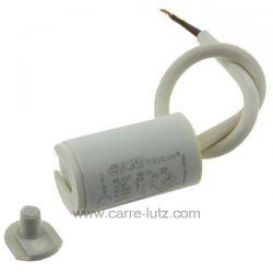Condensateur permanent  à fils 4,5 MF 450V ICAR