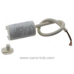 Condensateur permanent  à fils 6 MF 450V ICAR