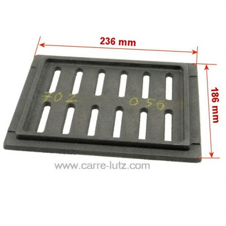 Grille foyère de foyerInvicta Ref. FB670122 F670122B  Insert 700 C 520 Noir, 667444, Insert 700 GV Turbo, 667144 , reference...