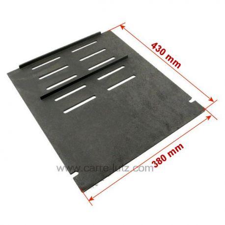 Demie grille de foyer de poêleInvicta Ref. F610849B  Norman 612844, Preston 612804 , reference 702063