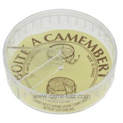 Boite à camembert plastique en plastique alimentaire conserve et affine votre camembert retient les odeurs diamètre. 11 cm , ...