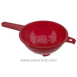 Passoire à manche en plastique diamètre : 22.5 cm longueur totale avec manche : 38.5 cm en plastique alimentaire couleur suiv...
