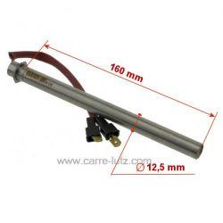 Bougie ou Résistance 350W de poêle à pellet 41450905000 MCZ Diamètre 12,35 mm Longueur totale 172 mm , reference 70390005