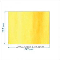 AX686191A - Vitre réfractaire Vitrocéramique 372x329 mm Invicta