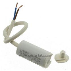 Condensateur permanent à fils 2 MF 450V ICAR , reference 23090102