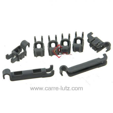 Kit palier pince panier inférieur 00611472 de lave vaisselle Bosch Siemens , reference 54092003