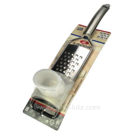 Rape grille gros trou Diamant 61302 Lacor Poussoir mobile inox 18/10 base antidérapante incorporée lavable au lave vaisselle ...