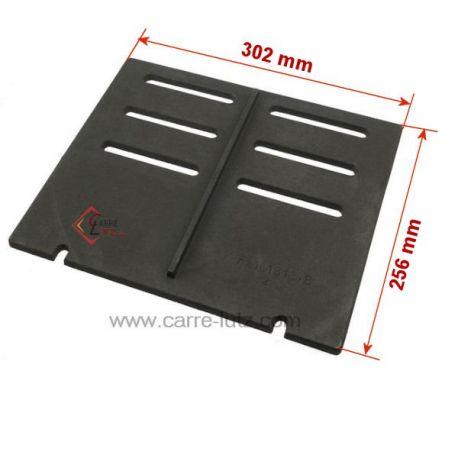Demie grille de foyer de poêle Invicta Nouveau Modèle verifier vos dimensions Ref. F610181B-B FB610181  Astana, 614844 Samar...