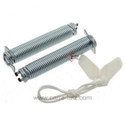 Cable et ressort de porte de lave vaisselleBosch Siemens Neff Gaggenau Viva Constructa ref. 00754869  S41N53N4EU/01 S41N53N7...