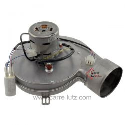 Ventilateur extracteur de fumée de chaudière a pellet