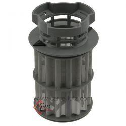 Filtre avec microfiltre 00645038 de lave vaisselle Bosch Siemens , reference 403215