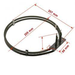 Résistance circulaire 1900W 3871425124 3192085128 de four Electrolux , reference 20390023