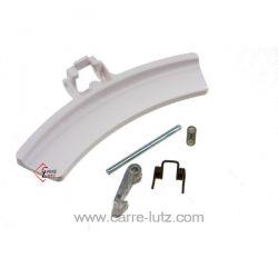 4055123634 - Poignée de hublot blanche de lave linge Electrolux