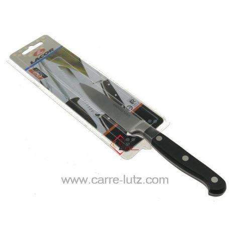 Couteau de cuisine classic 10 cm Lacor 39110 couteau forgé manche riveté lame de 10 cm longueur totale 21 cm  , reference 99...