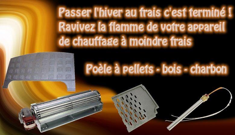 Pièces détachées pour tous les appareils de chauffage