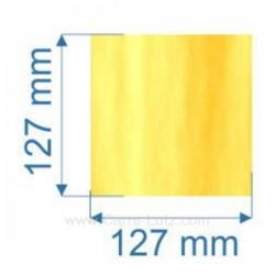 Vitre de poele en Vitrocéramique 127x127 mm Deville 7864 7867 , reference 00127X127