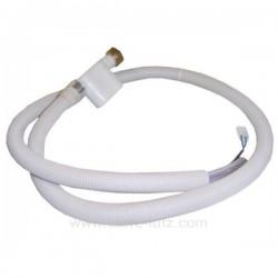 C00373181 - Tuyau d'alimentation Aquastop de lave vaisselle Miele Indesit Ariston