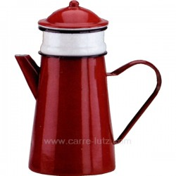 CAFETIERE FILTRE EMAIL Arts de la table 150IB206, reference 150IB206