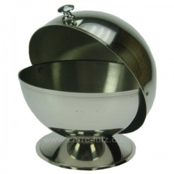 SUCRIER BOULE INOX DIAM.13 CM Arts de la table 150IB210, reference 150IB210