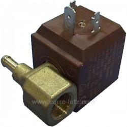Electrovanne de centrale vapeur 180° 6W 230V 17VA 1/4 femelle , reference 207401