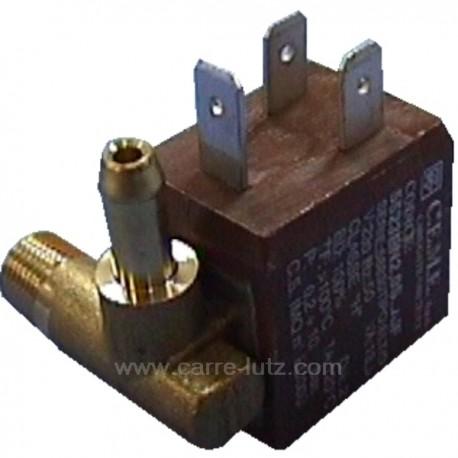 Electrovanne de centrale vapeur 90° 4W 230V 13.5VA 1/8 , reference 207403
