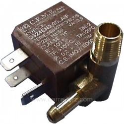 Electrovanne de centrale vapeur 90° 4W 230V 13,5VA 1/8, reference 207404