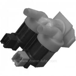 Electrovanne 2 voies 180° pour lave-linge Bosch Siemens 00265772 00086311 , reference 208062