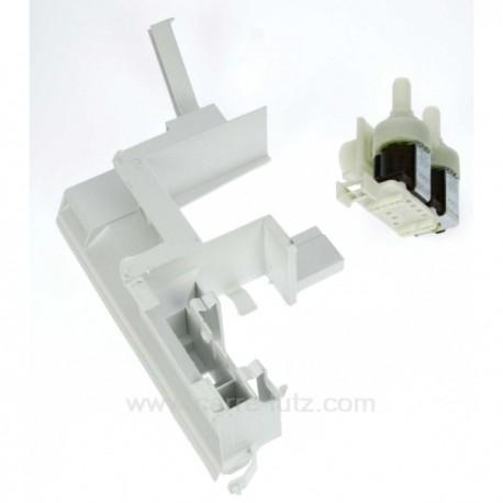 Electrovanne 2 voies 90° de lave linge Bosch Siemens Neff Gaggenau Viva Constructa ref. 00263330, reference 208105