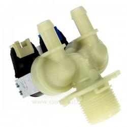 Electrovanne 2 voies 180° de lave linge Bosch Siemens, C00112661 Ariston Hotpoint Indesit , reference 208106