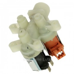 Electrovanne 3 voies 90° de lave linge AEG Electrolux 4071360194 , reference 209044