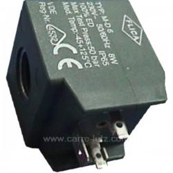 Bobine d'electrovanne de centrale vapeur 8W diamétre 13 mm, reference 212402