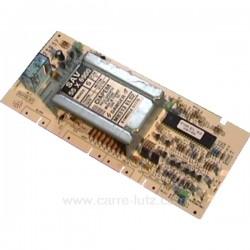 Carte de puissance MB313 de lave linge Brandt Vedette 55x6900 , reference 214180