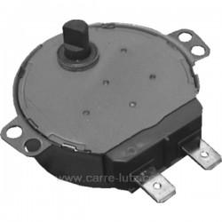Moteur de plateau tournant axe 10 mm de micro ondes Laden Whirlpool 481236158449 , reference 214203