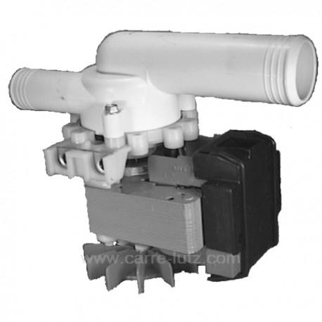 Pompe de vidange de lave linge Ariston C00029803 Whirlpool 481990303645 , reference 215143