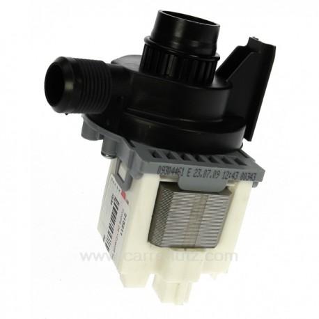 Pompe de vidange 30W de lave lingeAeg Electrolux Arthur Martin Faure Zanussiref.1460573205 1240180016 1240180065 124018010...