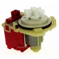 Moteur de pompe de vidange EBS 2556 0808c de lave linge Bosch Siemens, Fagor Brandt , reference 215301