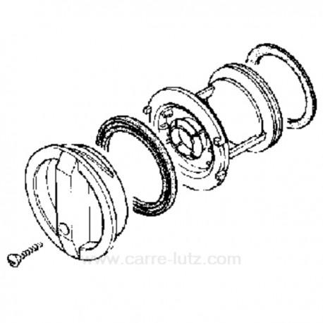 Bouchon de pompe de vidange de lave linge Candy 91941111 , reference 216121