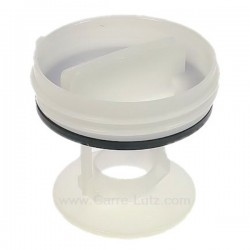 Bouchon de pompe 00605010 de vidange pour lave-linge Bosch Siemens , reference 216172