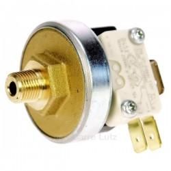 Pressostat 1.5 à 4 Bars 1/8 de pouce male avec micro interrupteur, reference 217404
